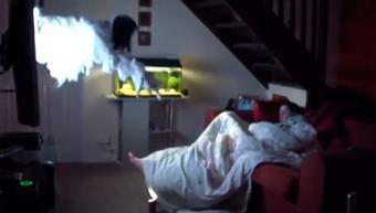 fantoma care iese din televizor