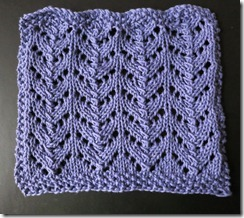 September Dishcloth KAL