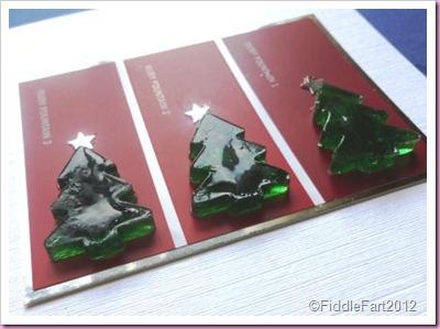 Colour Chart Christmas Card
