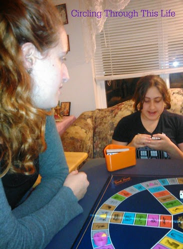 Playing Doctor Who version of Trivial Pursuit on Thanksgiving!