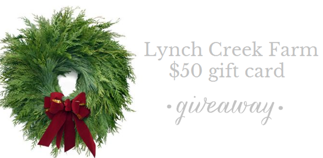 lynch creek farm giveaway