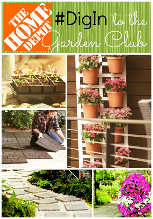 Home Depot Garden Club #digin