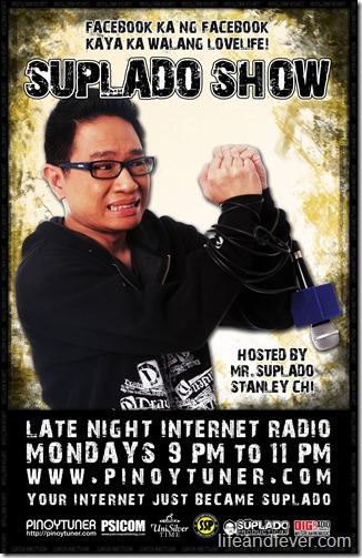 11x17 Suplado show poster