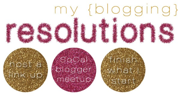 Blogging Resolutions