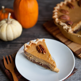 Black-Bottom Maple Pumpkin Pie