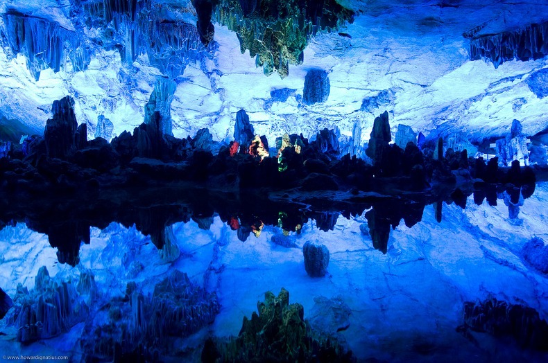 reed flute cave in guilin china amusing planet