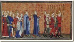 Procession de Baptême de Charles VI