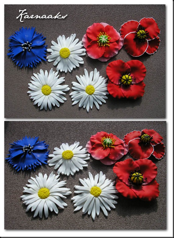 estonian flower brooches