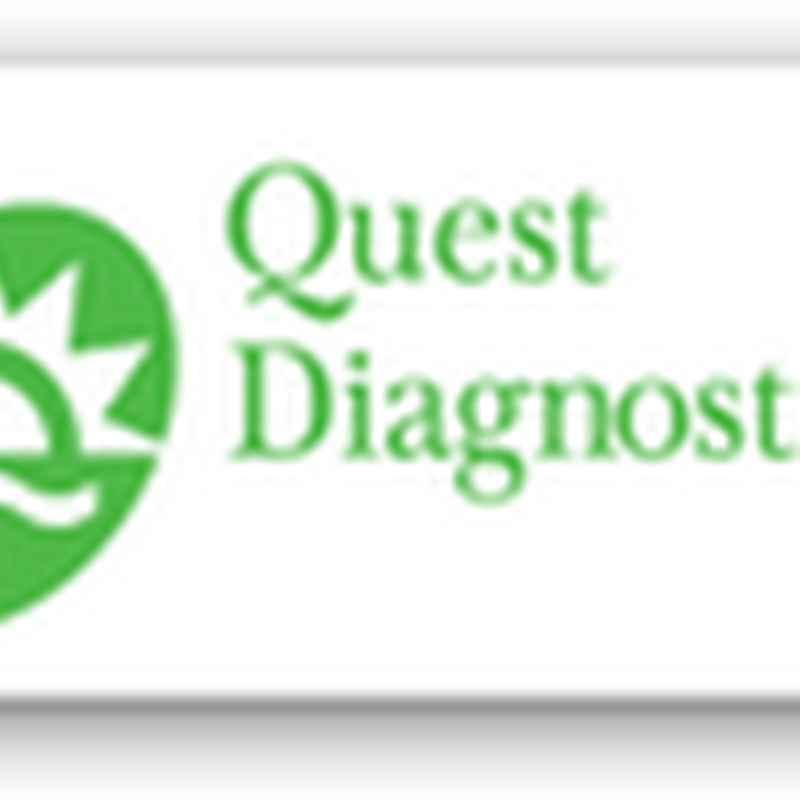 Quest Diagnostics Restructuring and Will Cut 400 to 600 Jobs by End of 2013