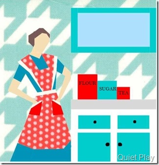 Sew Kitschy Betty paper pieced pattern