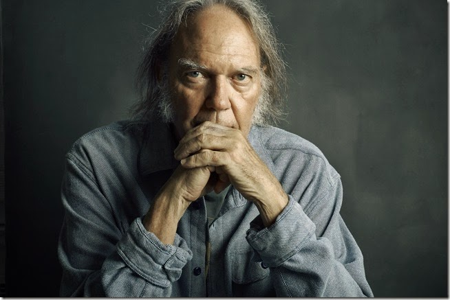 Neil Young  Musician, Writer and Painter - Matt Furman para WSJ - 2