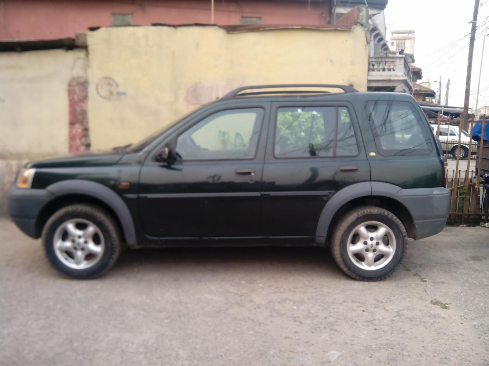 2000 Model Land Rover Freelander Tokunbo Manual
