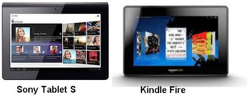 Sony Tablet S vs Kindle Fire