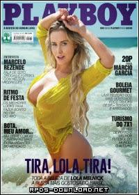 54886fb0d6f24 Revista Playboy: Lola Melnick Dezembro 2014