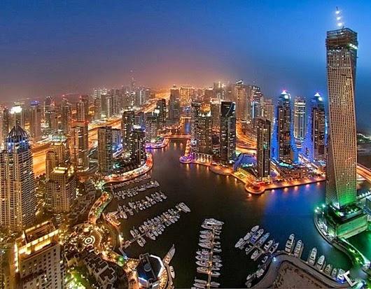 Дубай-ночью