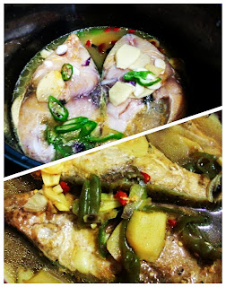 Ampap Ikan Sabah Style!