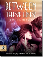 between these lines