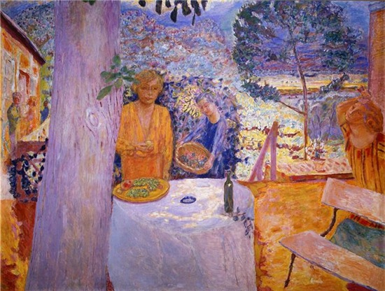 pierrebonnard -the terrace at vernonnet
