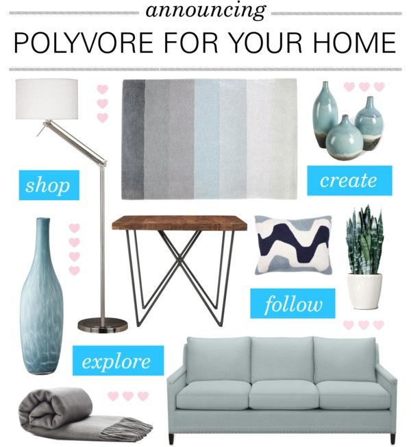 polyvore interior design - arredamento