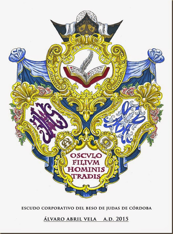diseño escudo beso de judas corodoba alvaro abril vela 2015