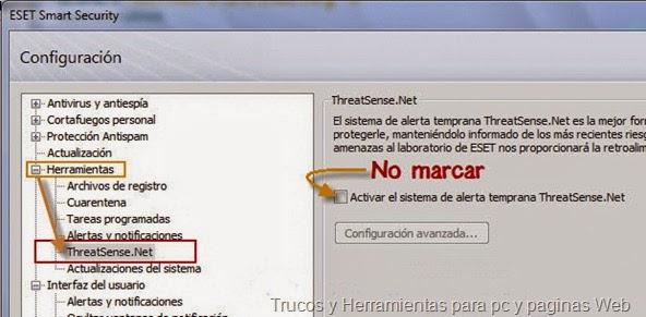 ThreatSense.net en la. v4