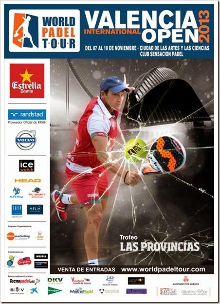 Valencia International Open WPT 2013: Cuadros de Juego y venta de entradas.