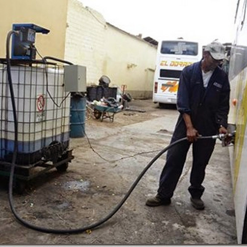 Cochabamba: Planta produce biodiésel con aceite de broasterías