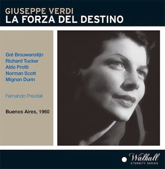 CD REVIEW: Giuseppe Verdi - LA FORZA DEL DESTINO (Walhall Eternity Series WLCD 0310)