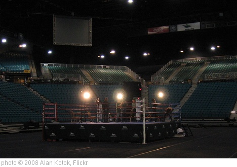 'Boxing ring, MGM Grand' photo (c) 2008, Alan Kotok - license: http://creativecommons.org/licenses/by/2.0/