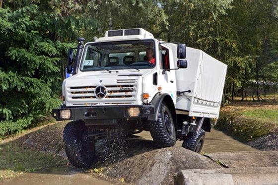 Camiones Mercedes Unimog