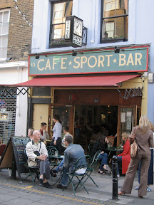 Front of Cafe Kick