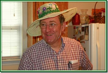 2012 Apr 20 - Jonny & Mama Trudy's hat