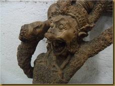 Patung hanoman sinta - wajah hanoman sinta1