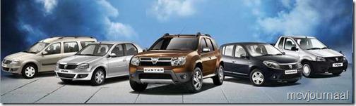 Alle Dacia modellen