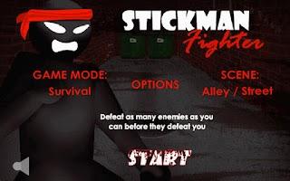 Screenshot of Stickman Fighter
