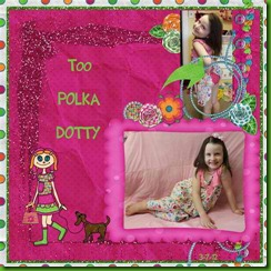 Mom-Too Polka Dotty - Font