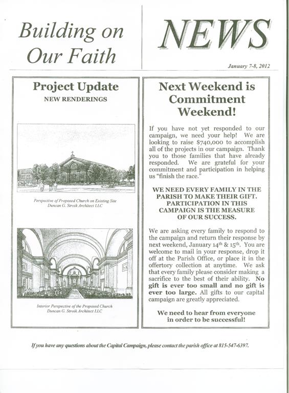 lecturn church bulletin