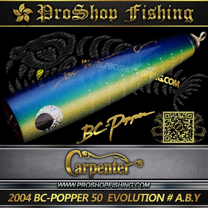 carpenter 2004 BC-POPPER 50  EVOLUTION # A.B.Y.3
