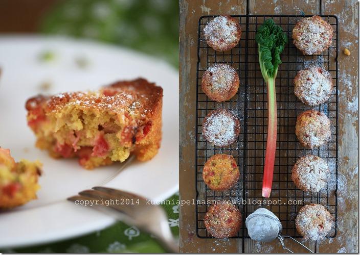 bezglutenowe i glutenowe babeczki rabarbarowe3