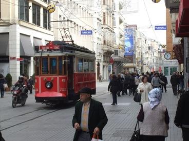 calle Istiklal, Estambul