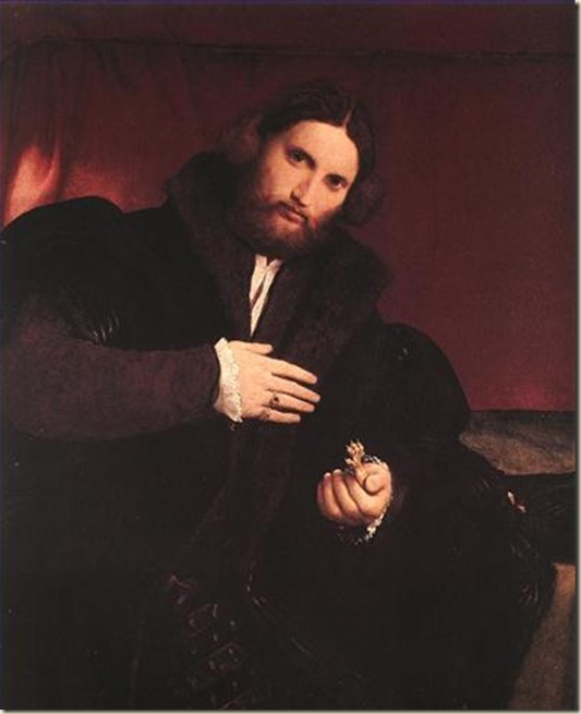 Lorenzo Lotto, L'homme  la patte de lion
