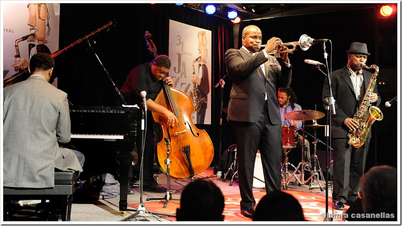 Jeremy Pelt Quintet, Terrassa 2012