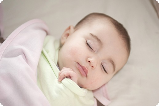 sleeping bitty baby