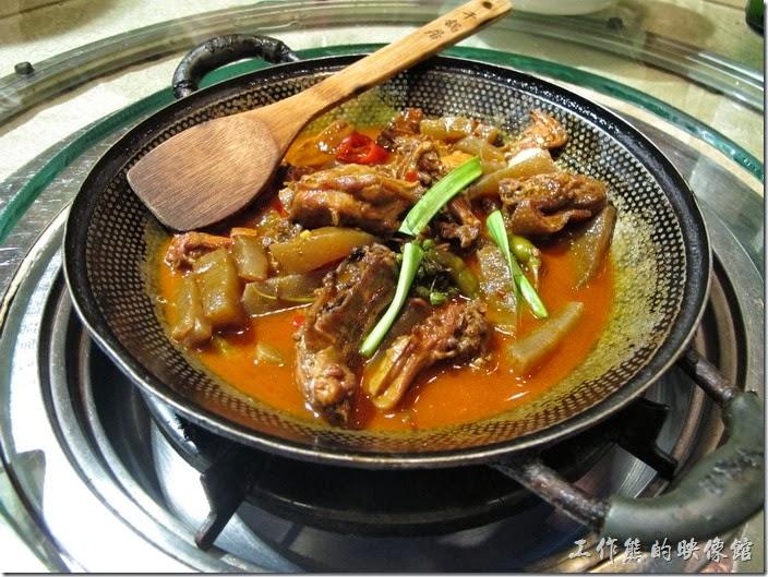 上海-干鍋居(貴州黔菜)。啤酒鴨干鍋,RMB$59。