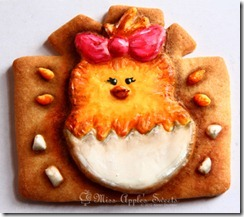chick cookie