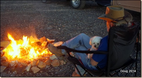 Fire and marshmellows