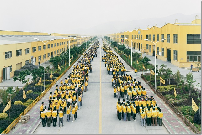 Cankun Factory, Zhangzhou, Fujian Province, China. Photo by Edward Burtynsky