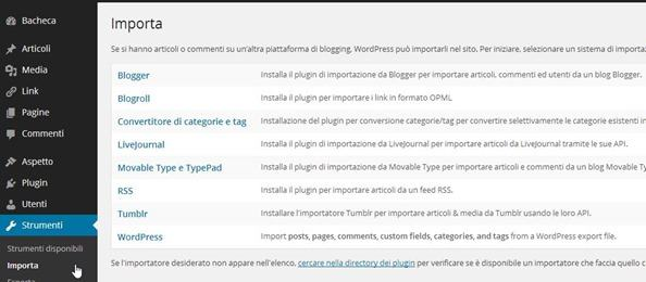 importare-contenuti-wordpress