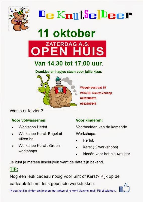 openhuis 11 oktober 2014