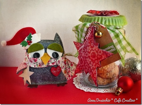 cafe creativo - Anna Drai - sizzix big shot - christmas gift jar owl (1)